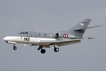 143 - France - Navy Dassault Falcon 10MER