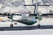 LN-WFH - Widerøe de Havilland Canada DHC-8-300Q Dash 8 aircraft