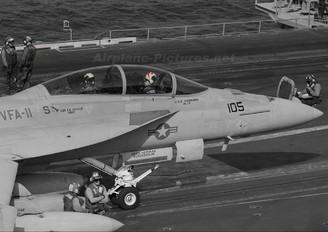 166630 - USA - Navy McDonnell Douglas F/A-18F Super Hornet