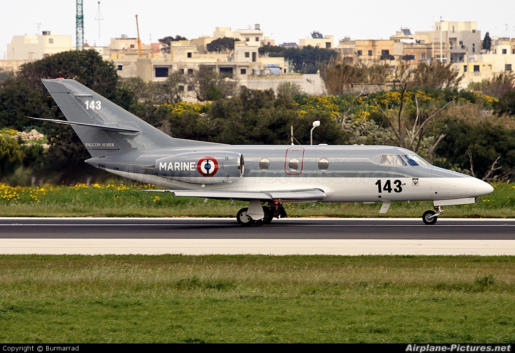 France - Navy 143 aircraft at Malta Intl