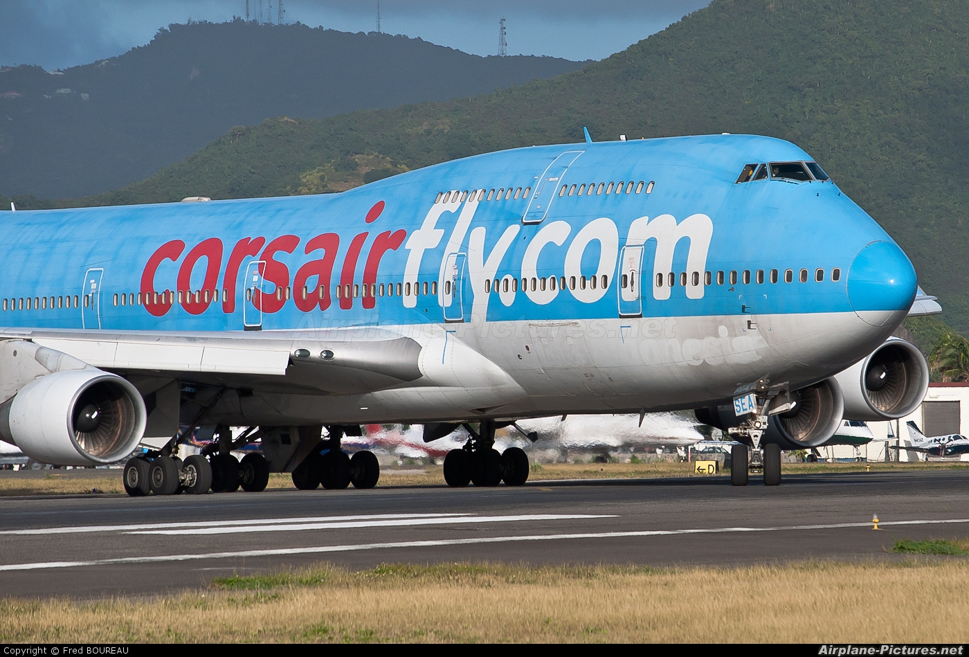 Corsair / Corsair Intl F-HSEA aircraft at Sint Maarten - Princess Juliana Intl