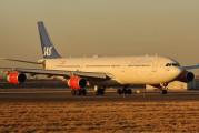 LN-RKG - SAS - Scandinavian Airlines Airbus A340-300 aircraft