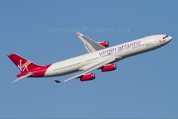 G-VSUN - Virgin Atlantic Airbus A340-300