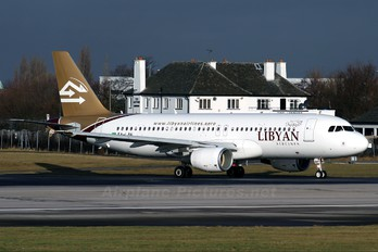 5A-LAH - Libyan Airlines Airbus A320