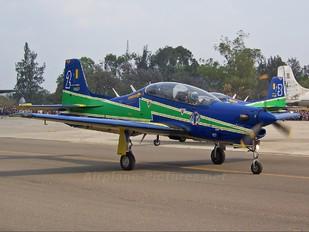"""1307 - Brazil - Air Force """"Esquadrilha da Fumaça"""" Embraer EMB-312 Tucano T-27"""