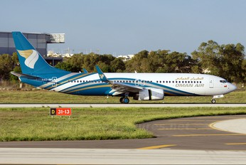 A4O-BF - Oman Air Boeing 737-800