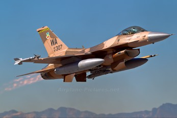 87-0307 - USA - Air Force General Dynamics F-16C Fighting Falcon