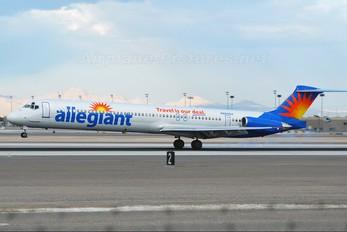 N865GA - Allegiant Air McDonnell Douglas MD-83