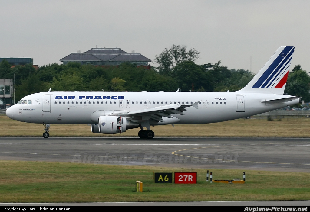 Air France F-GKXS aircraft at London - Heathrow