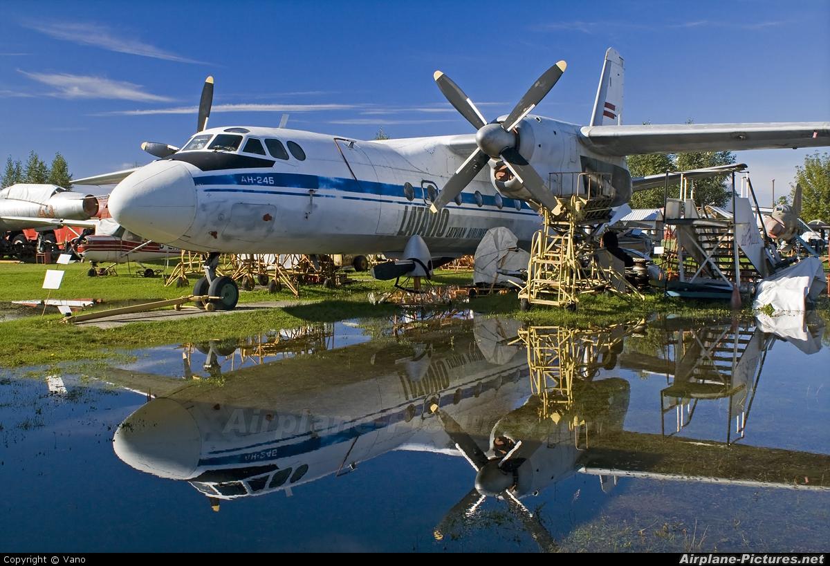 Latavio-Latvian Airlines YL-LCD aircraft at Riga Aviation Museum