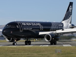 ZK-OAB - Air New Zealand Airbus A320