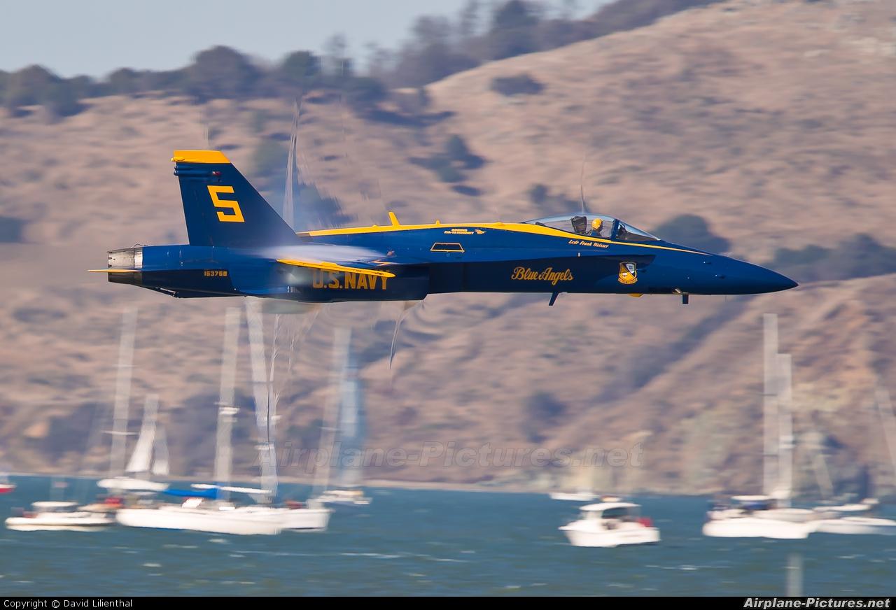 USA - Navy : Blue Angels 163768 aircraft at San Francisco - Off Airport