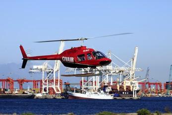 ZS-HVY - Private Bell 206B Jetranger