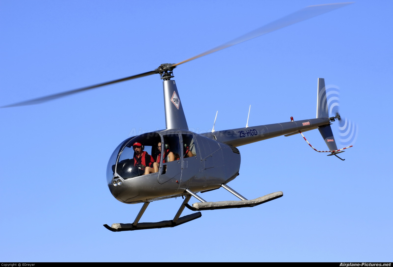 Private ZS-HGD aircraft at V&A Waterfront Heliport