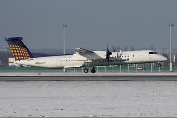 D-ADHP - Augsburg Airways - Lufthansa Regional de Havilland Canada DHC-8-400Q / Bombardier Q400