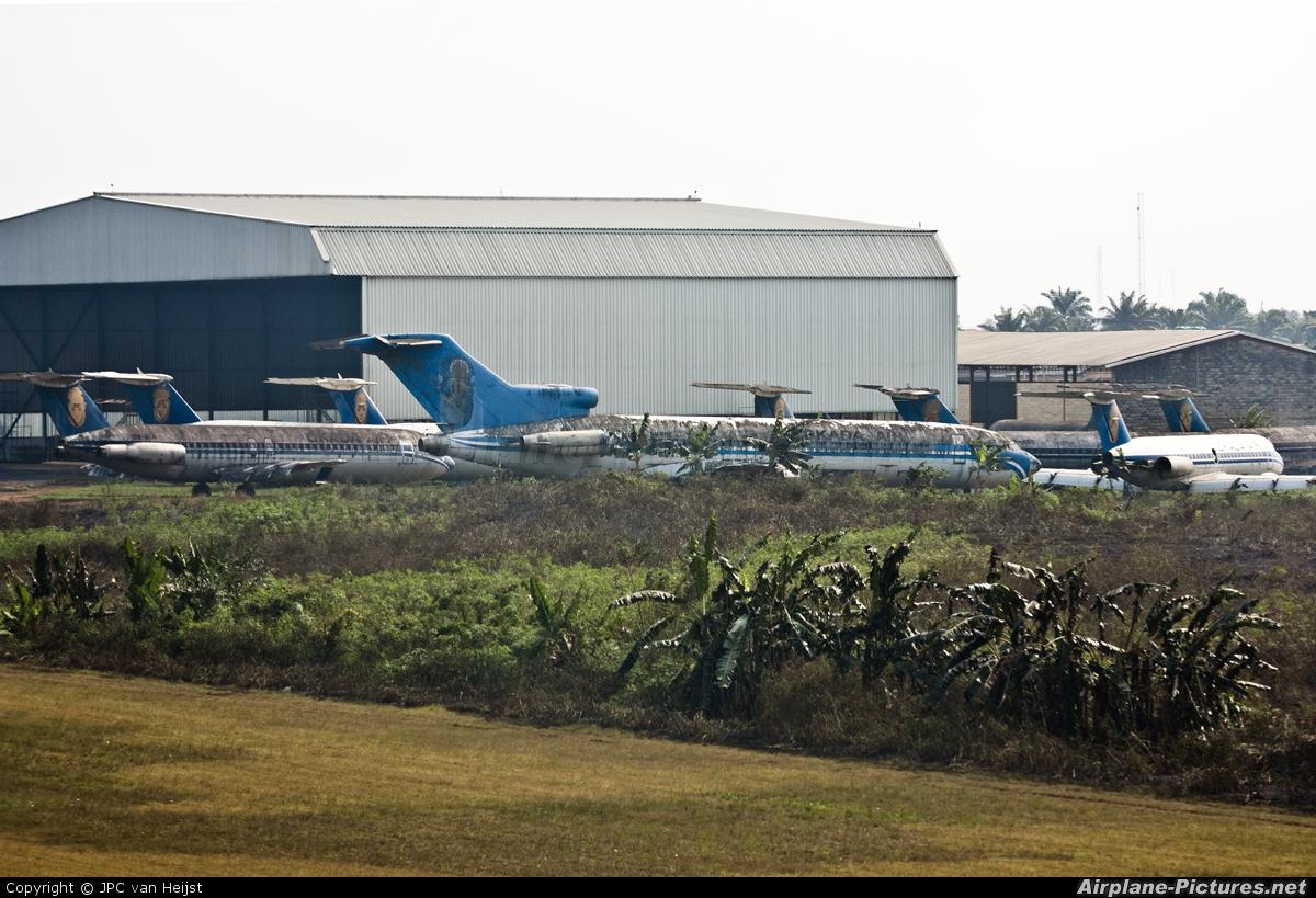 Okada Air 5N-EDE aircraft at Benin City