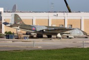 Former UK Air Force Canberra brought to Malta awaits restoration title=