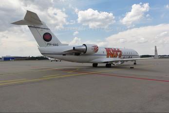 PH-AAG - Solid Air Canadair CL-600 CRJ-200