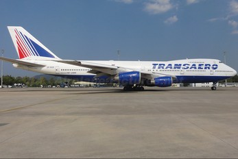 VP-BQE - Transaero Airlines Boeing 747-200