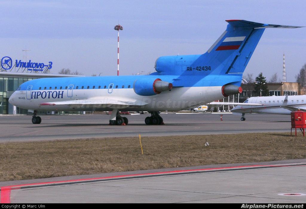 Private RA-42434 aircraft at Moscow - Vnukovo