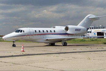 N93S - Private Cessna 750 Citation X