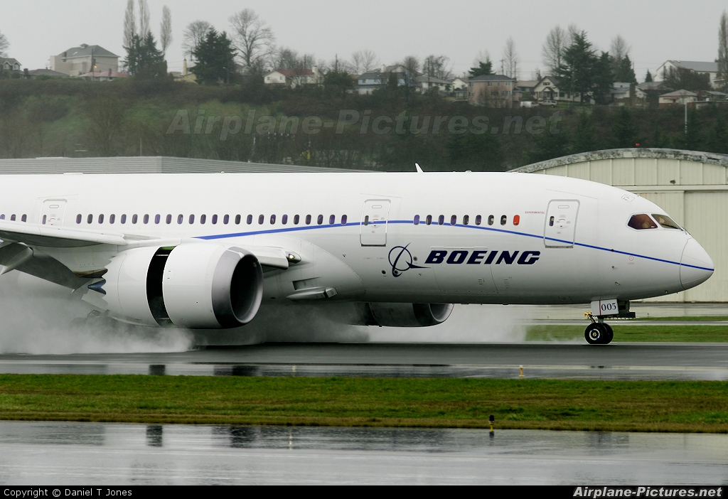 Boeing Company N787FT aircraft at Seattle - Boeing Field / King County Intl