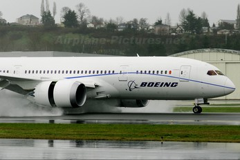 N787FT - Boeing Company Boeing 787-8 Dreamliner