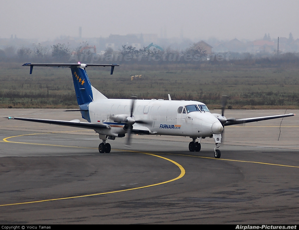 Farnair Europe HA-FAJ aircraft at Arad