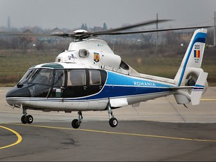 203 - Romania - Air Force Aerospatiale AS365 Dauphin II