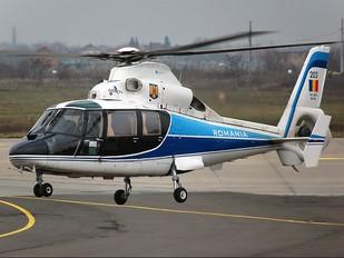 203 - Romania - Air Force Aerospatiale AS365 Dauphin II