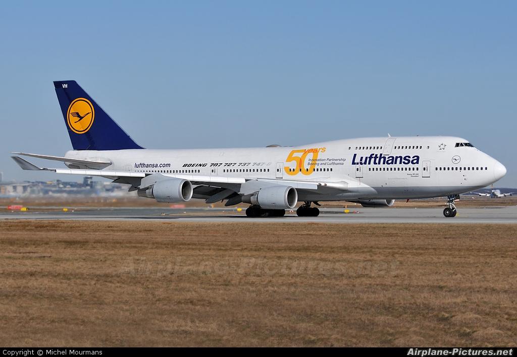 d abvh lufthansa boeing 747 400 at frankfurt photo id 125467 airplane. Black Bedroom Furniture Sets. Home Design Ideas