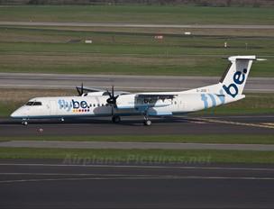 G-JEDI - Flybe de Havilland Canada DHC-8-400Q / Bombardier Q400