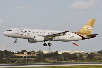 5A-LAJ - Libyan Airlines Airbus A320