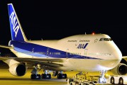 JA8962 - ANA - All Nippon Airways Boeing 747-400 aircraft