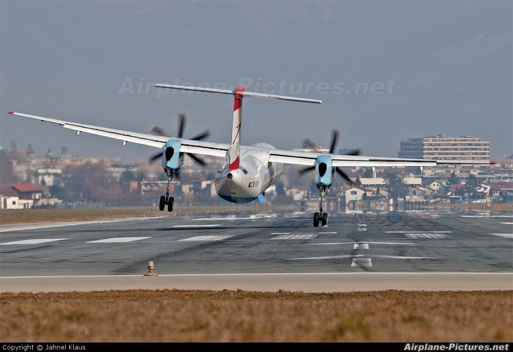 Austrian Airlines/Arrows/Tyrolean OE-LGG aircraft at Innsbruck