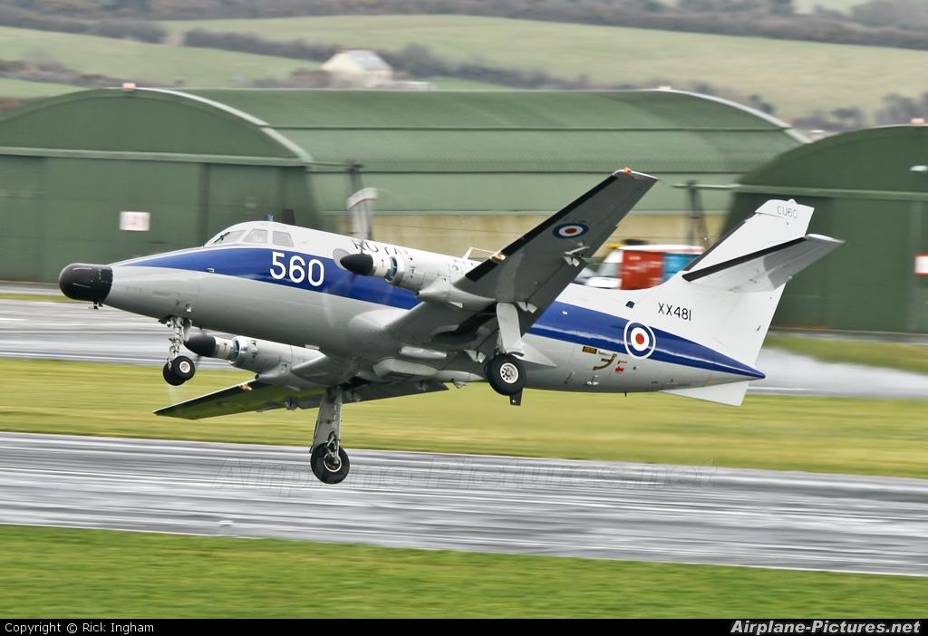 Royal Navy XX481 aircraft at Culdrose