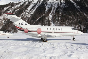 N497AG - Private Hawker Beechcraft 800XP