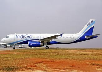 VT-INY - IndiGo Airbus A320