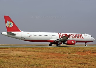 VT-KFZ - Kingfisher Airlines Airbus A321