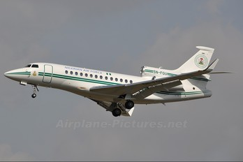 5N-FGU - Nigeria - Air Force Dassault Falcon 7X