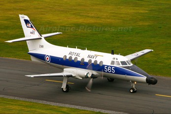 ZA111 - Royal Navy Scottish Aviation Jetstream T.2