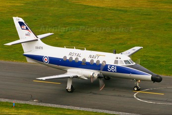 XX476 - Royal Navy Scottish Aviation Jetstream T.2