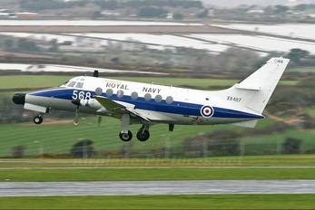 XX487 - Royal Navy Scottish Aviation Jetstream T.2