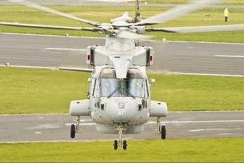 ZH835 - Royal Navy Agusta Westland AW101 111 Merlin HM.1