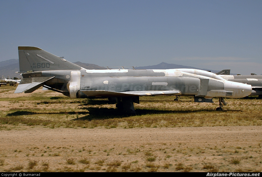 USA - Air Force 68-0600 aircraft at Davis-Monthan AFB