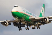 B-16463 - Eva Air Boeing 747-400 aircraft