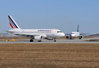 F-GUGA - Air France Airbus A318