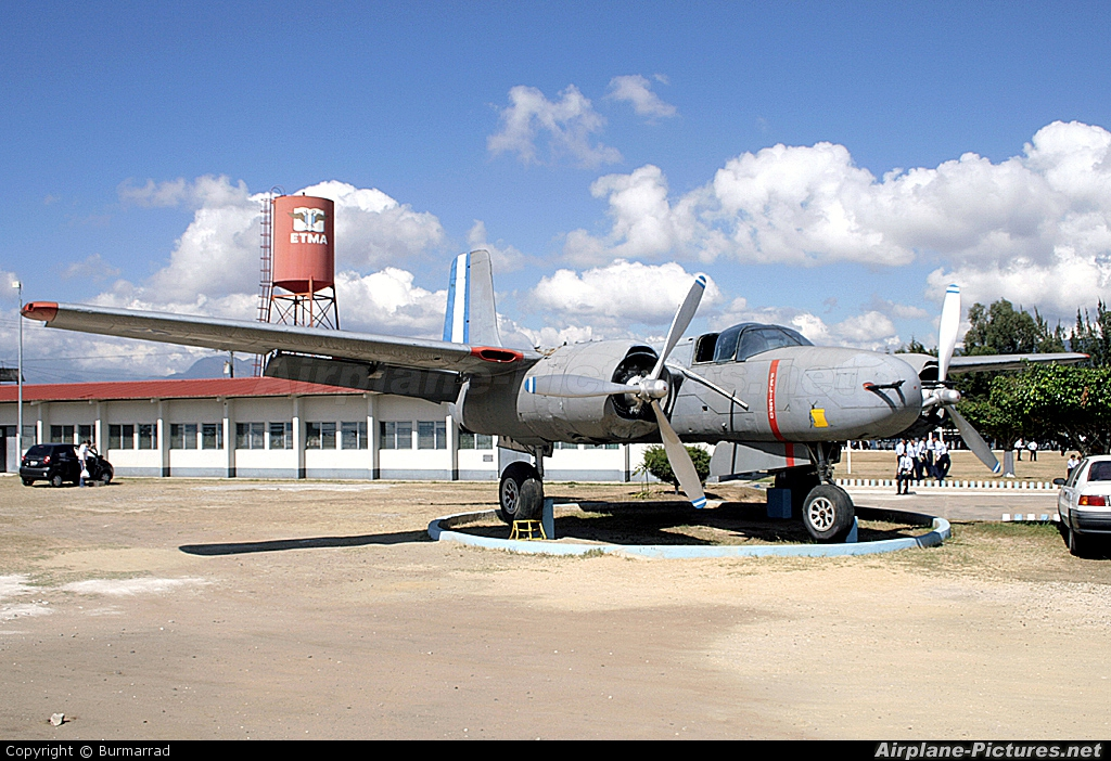 Guatemala - Air Force FAG404 aircraft at Guatemala - La Aurora