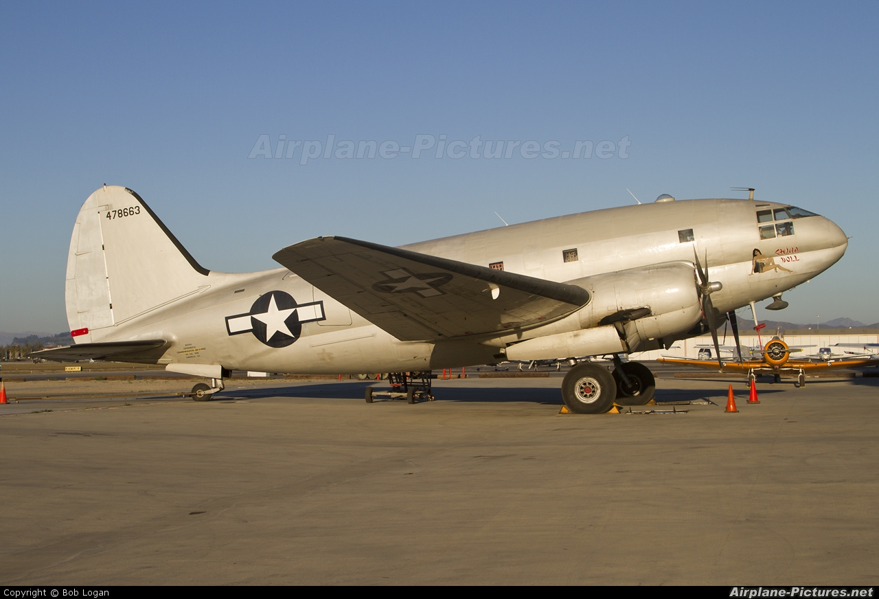 American Airpower Heritage Museum (CAF) N53594 aircraft at Camarillo