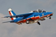 "E163 - France - Air Force ""Patrouille de France"" Dassault - Dornier Alpha Jet E aircraft"